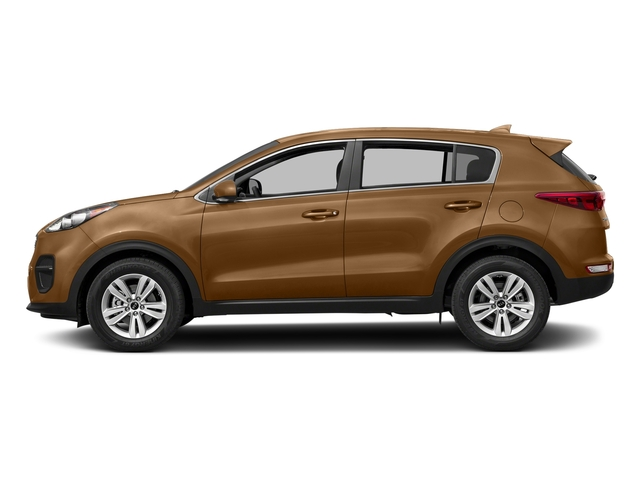 Burnished Copper 2017 Kia Sportage Pictures Sportage LX AWD photos side view