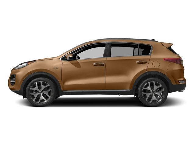 Burnished Copper 2017 Kia Sportage Pictures Sportage SX Turbo FWD photos side view