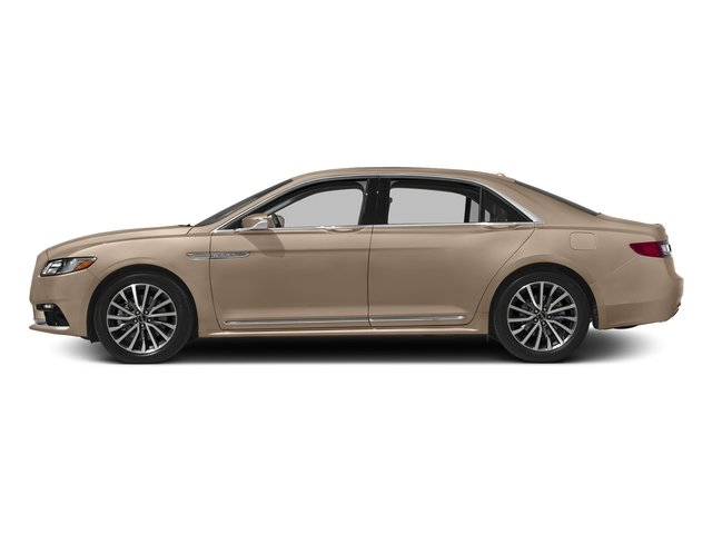 Palladium White Gold Metallic 2017 Lincoln Continental Pictures Continental Sedan 4D Livery photos side view