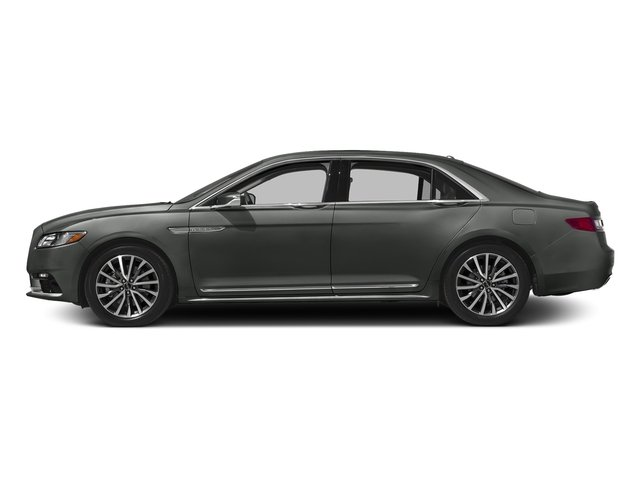 Magnetic Gray Metallic 2017 Lincoln Continental Pictures Continental Sedan 4D Livery photos side view