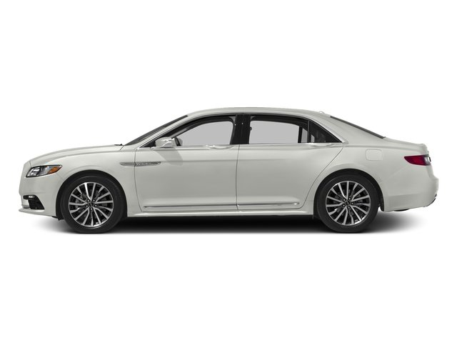 White Platinum Tri-Coat 2017 Lincoln Continental Pictures Continental Sedan 4D Black Label AWD V6 Turbo photos side view