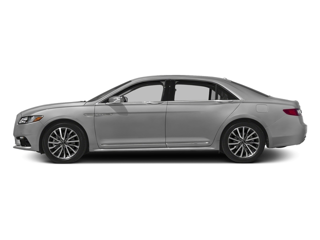 Ingot Silver Metallic 2017 Lincoln Continental Pictures Continental Sedan 4D Black Label AWD V6 Turbo photos side view
