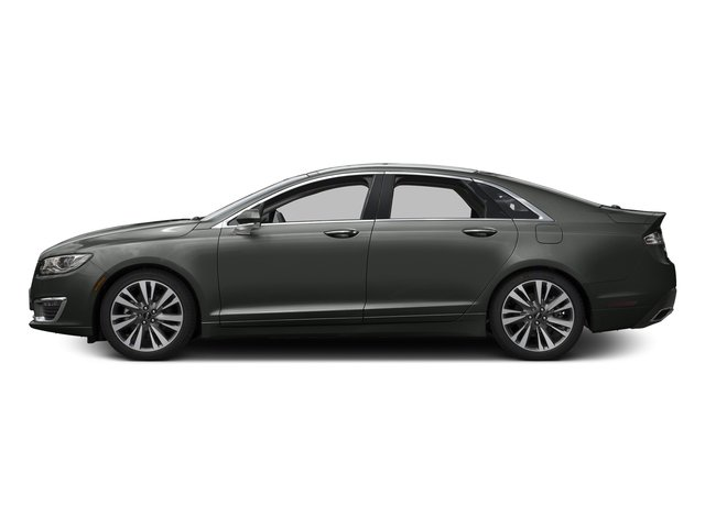 Magnetic Gray Metallic 2017 Lincoln MKZ Pictures MKZ Sedan 4D Select AWD I4 photos side view