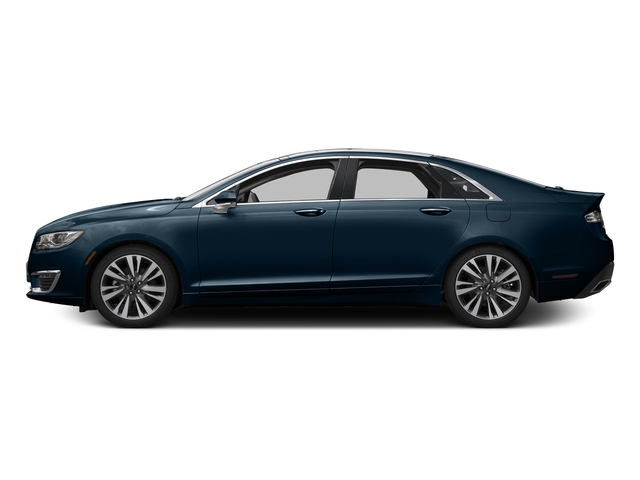 Midnight Sapphire Blue Metallic 2017 Lincoln MKZ Pictures MKZ Sedan 4D Select AWD I4 photos side view