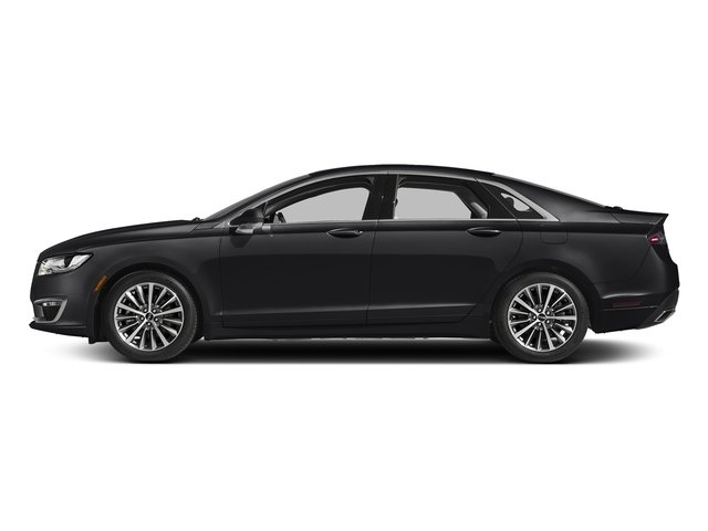 Black Velvet 2017 Lincoln MKZ Pictures MKZ Sedan 4D Select I4 Hybrid photos side view