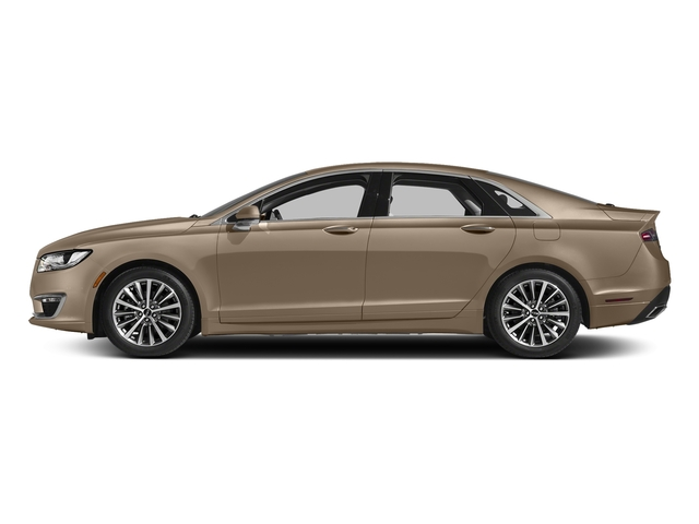 Palladium White Gold Metallic 2017 Lincoln MKZ Pictures MKZ Sedan 4D Select I4 Hybrid photos side view