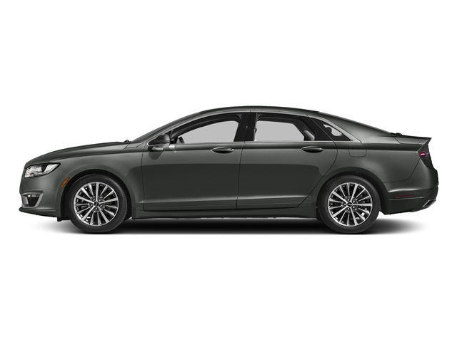 Magnetic Gray Metallic 2017 Lincoln MKZ Pictures MKZ Sedan 4D Select I4 Hybrid photos side view