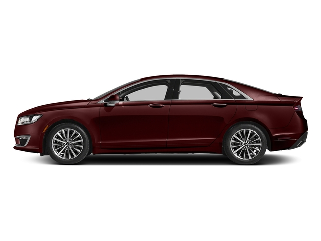 Burgundy Velvet Metallic Tinted Clearcoat 2017 Lincoln MKZ Pictures MKZ Sedan 4D Select I4 Hybrid photos side view