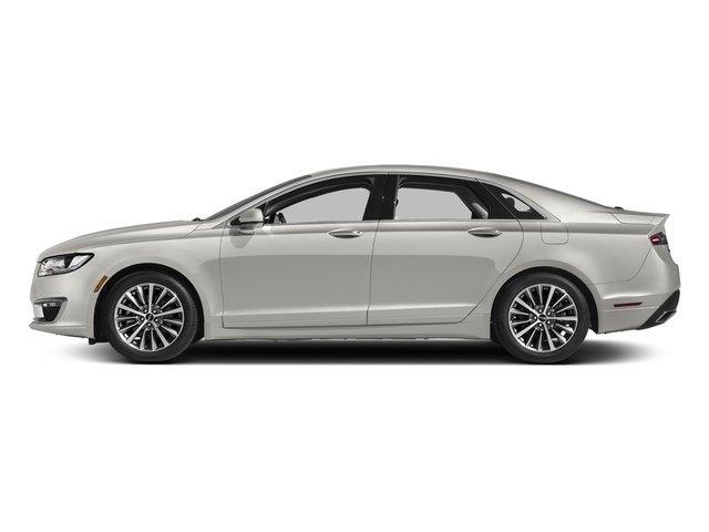 White Platinum Metallic Tri-Coat 2017 Lincoln MKZ Pictures MKZ Sedan 4D Select I4 Hybrid photos side view