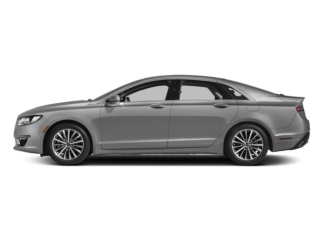 Ingot Silver Metallic 2017 Lincoln MKZ Pictures MKZ Sedan 4D Select I4 Hybrid photos side view