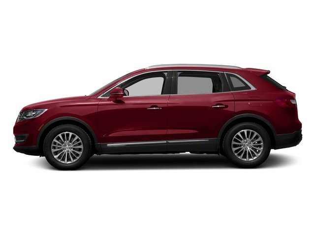 Ruby Red Metallic Tinted Clearcoat 2017 Lincoln MKX Pictures MKX Util 4D Reserve EcoBoost 2WD V6 photos side view