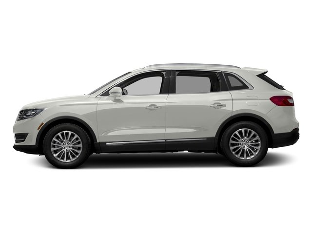 White Platinum Metallic Tri-Coat 2017 Lincoln MKX Pictures MKX Util 4D Reserve EcoBoost 2WD V6 photos side view