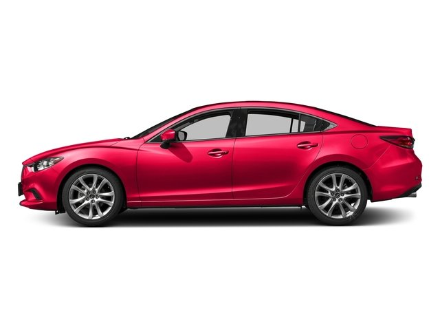 Soul Red Metallic 2017 Mazda Mazda6 Pictures Mazda6 Sedan 4D Touring I4 photos side view