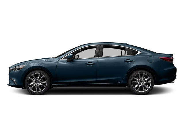 Deep Crystal Blue 2017 Mazda Mazda6 Pictures Mazda6 Sedan 4D GT Premium I4 photos side view