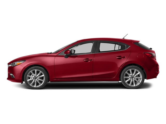 Soul Red Metallic 2017 Mazda Mazda3 5-Door Pictures Mazda3 5-Door Wagon 5D Touring 2.5L I4 photos side view