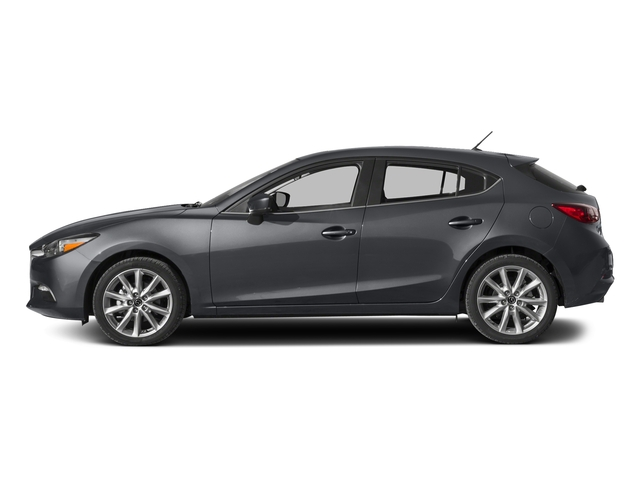 Machine Gray Metallic 2017 Mazda Mazda3 5-Door Pictures Mazda3 5-Door Wagon 5D Touring 2.5L I4 photos side view