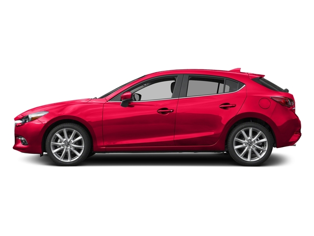 Soul Red Metallic 2017 Mazda Mazda3 5-Door Pictures Mazda3 5-Door Grand Touring Manual photos side view