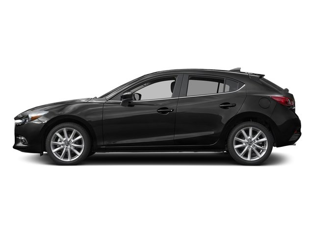 Jet Black Mica 2017 Mazda Mazda3 5-Door Pictures Mazda3 5-Door Grand Touring Manual photos side view
