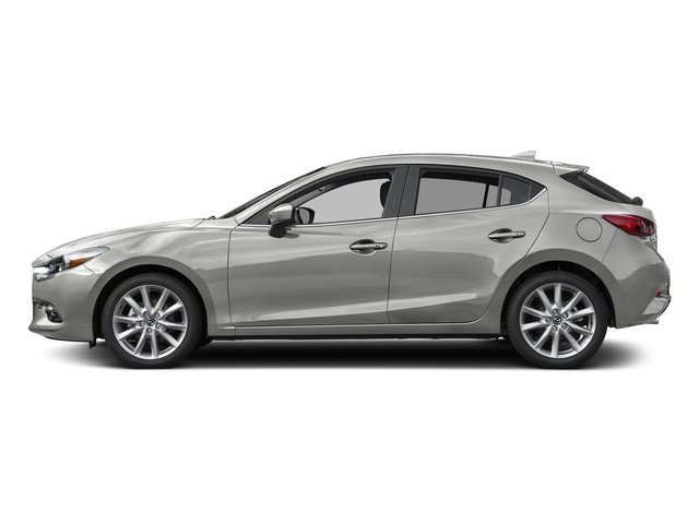 Sonic Silver Metallic 2017 Mazda Mazda3 5-Door Pictures Mazda3 5-Door Grand Touring Manual photos side view
