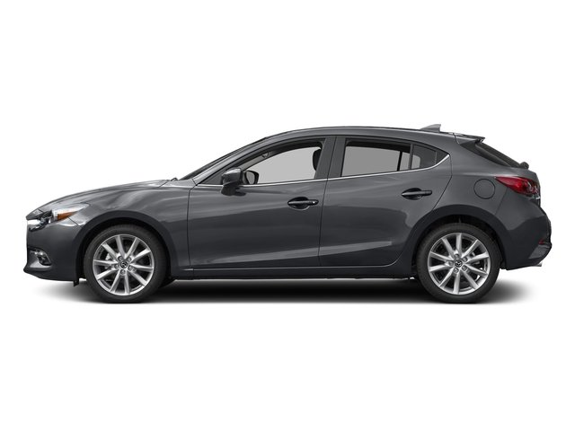 Machine Gray Metallic 2017 Mazda Mazda3 5-Door Pictures Mazda3 5-Door Grand Touring Manual photos side view