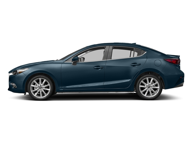 Deep Crystal Blue Mica 2017 Mazda Mazda3 4-Door Pictures Mazda3 4-Door Sedan 4D Grand Touring photos side view
