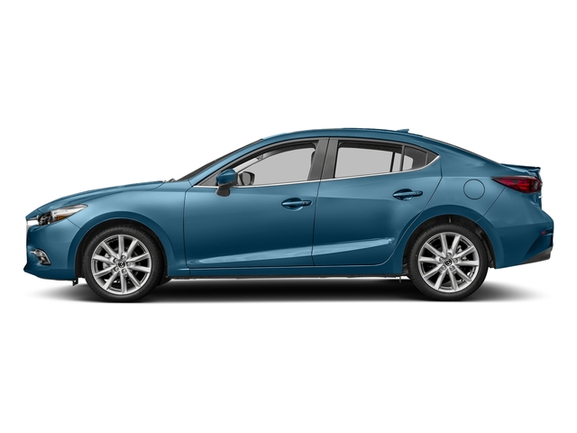 Eternal Blue Mica 2017 Mazda Mazda3 4-Door Pictures Mazda3 4-Door Sedan 4D Grand Touring photos side view