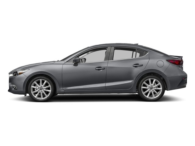 Machine Gray Metallic 2017 Mazda Mazda3 4-Door Pictures Mazda3 4-Door Sedan 4D Grand Touring photos side view