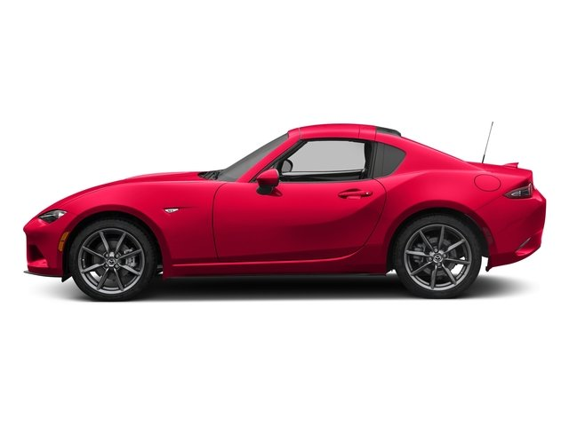 Soul Red Metallic 2017 Mazda MX-5 Miata RF Pictures MX-5 Miata RF Grand Touring Manual photos side view