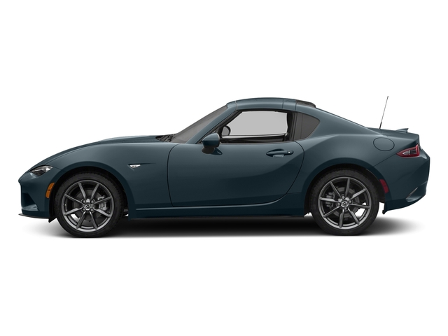Blue Reflex Mica 2017 Mazda MX-5 Miata RF Pictures MX-5 Miata RF Grand Touring Manual photos side view