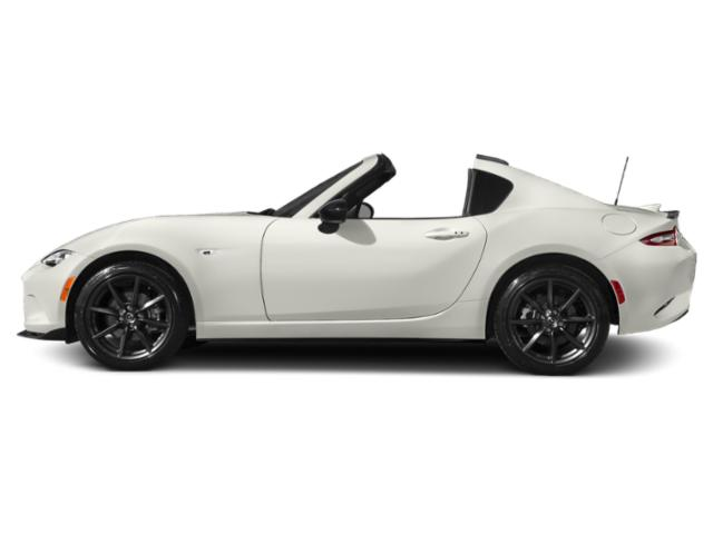 Arctic White 2017 Mazda MX-5 Miata RF Pictures MX-5 Miata RF Conv 2D Club Retractable Fastback I4 photos side view
