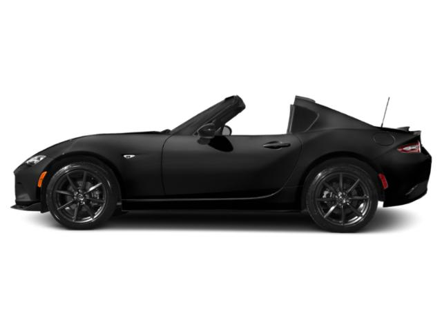 Jet Black Mica 2017 Mazda MX-5 Miata RF Pictures MX-5 Miata RF Conv 2D Club Retractable Fastback I4 photos side view