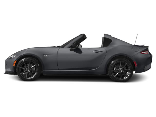 Machine Gray 2017 Mazda MX-5 Miata RF Pictures MX-5 Miata RF Conv 2D Club Retractable Fastback I4 photos side view