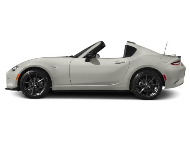 Ceramic Metallic 2017 Mazda MX-5 Miata RF Pictures MX-5 Miata RF Conv 2D Club Retractable Fastback I4 photos side view