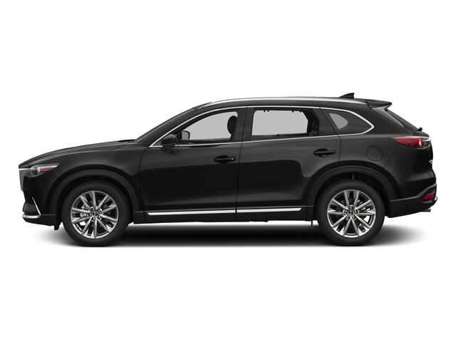 Jet Black Mica 2017 Mazda CX-9 Pictures CX-9 Utility 4D Signature AWD I4 photos side view