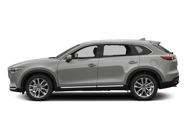 Sonic Silver Metallic 2017 Mazda CX-9 Pictures CX-9 Utility 4D Signature AWD I4 photos side view