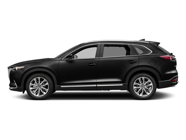 Jet Black Mica 2017 Mazda CX-9 Pictures CX-9 Utility 4D GT 2WD I4 photos side view