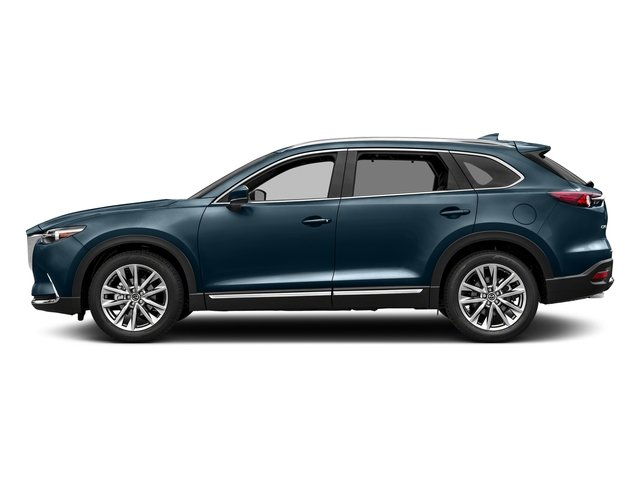 Deep Crystal Blue Mica 2017 Mazda CX-9 Pictures CX-9 Utility 4D GT 2WD I4 photos side view