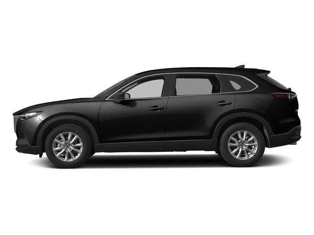 Jet Black Mica 2017 Mazda CX-9 Pictures CX-9 Utility 4D Sport AWD I4 photos side view