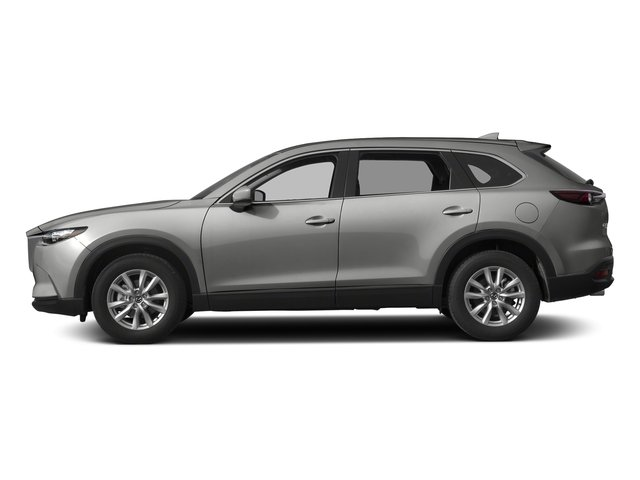 Sonic Silver Metallic 2017 Mazda CX-9 Pictures CX-9 Utility 4D Sport AWD I4 photos side view