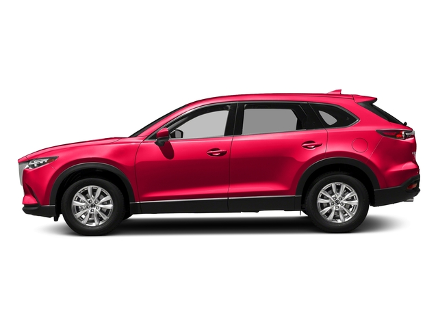 Soul Red Metallic 2017 Mazda CX-9 Pictures CX-9 Touring AWD photos side view