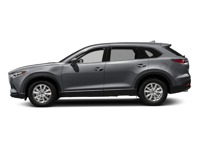 Machine Gray Metallic 2017 Mazda CX-9 Pictures CX-9 Touring AWD photos side view