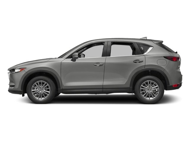 Sonic Silver Metallic 2017 Mazda CX-5 Pictures CX-5 Utility 4D Sport 2WD I4 photos side view