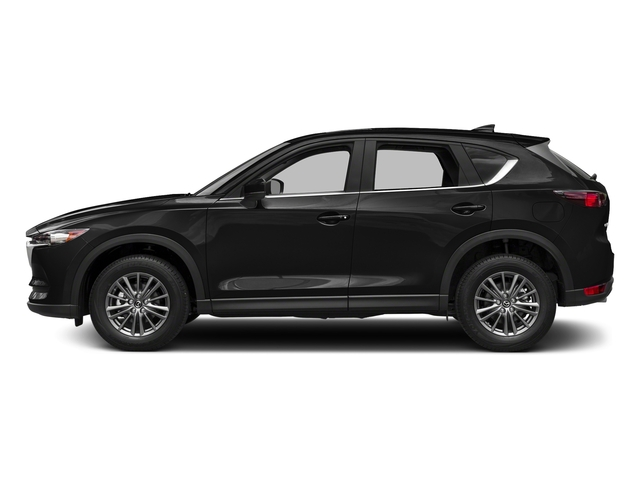 Jet Black Mica 2017 Mazda CX-5 Pictures CX-5 Utility 4D Touring 2WD I4 photos side view