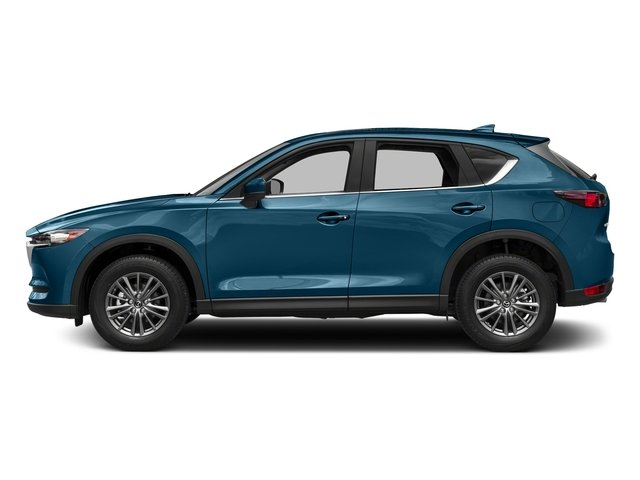 Eternal Blue Mica 2017 Mazda CX-5 Pictures CX-5 Utility 4D Touring 2WD I4 photos side view