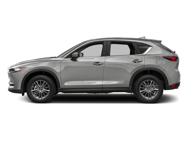 Sonic Silver Metallic 2017 Mazda CX-5 Pictures CX-5 Utility 4D Touring 2WD I4 photos side view