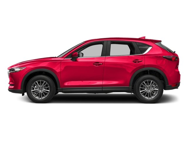 Soul Red Crystal Metallic 2017 Mazda CX-5 Pictures CX-5 Utility 4D Touring 2WD I4 photos side view