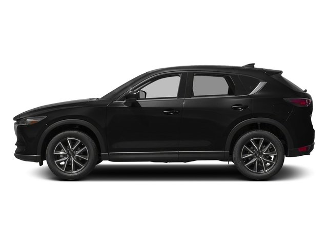 Jet Black Mica 2017 Mazda CX-5 Pictures CX-5 Grand Touring AWD photos side view