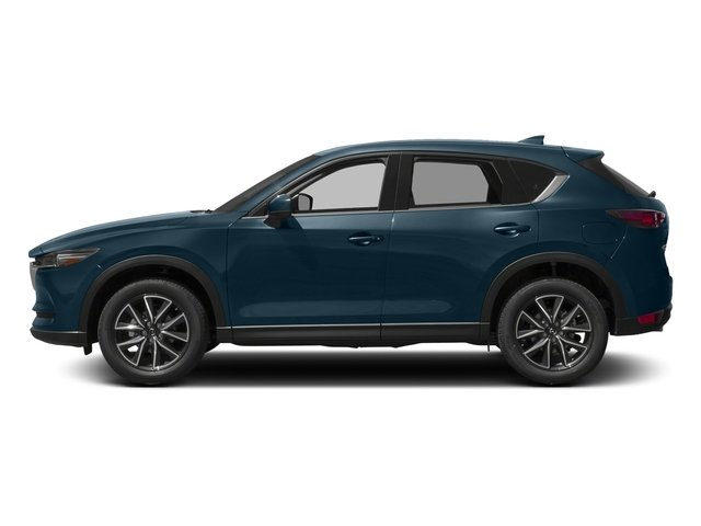 Deep Crystal Blue Mica 2017 Mazda CX-5 Pictures CX-5 Grand Touring AWD photos side view