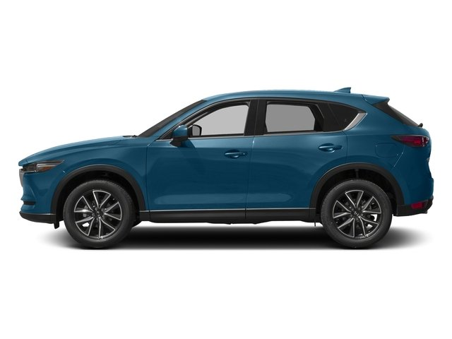 Eternal Blue Mica 2017 Mazda CX-5 Pictures CX-5 Grand Touring AWD photos side view