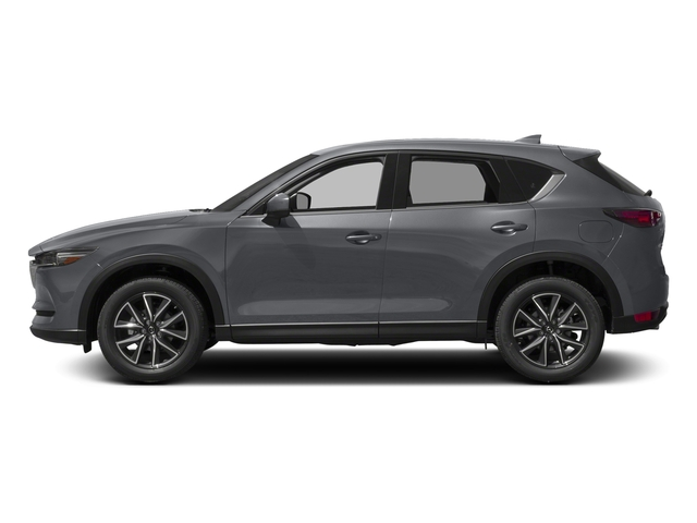 Machine Gray Metallic 2017 Mazda CX-5 Pictures CX-5 Grand Touring AWD photos side view